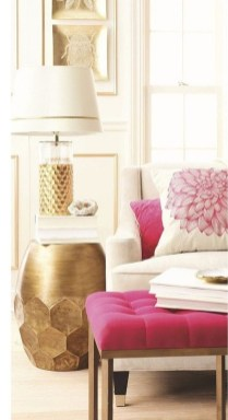 Fancy Gold Color Interior Design Ideas For Your Home Style To Copy 16