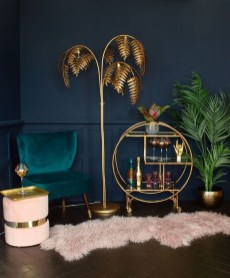 Fancy Gold Color Interior Design Ideas For Your Home Style To Copy 21