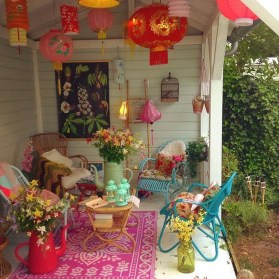 Gorgeous Colorful Bohemian Spring Porch Update For Your Inspire 21