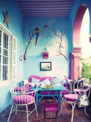 Gorgeous Colorful Bohemian Spring Porch Update For Your Inspire 24