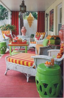 Gorgeous Colorful Bohemian Spring Porch Update For Your Inspire 30