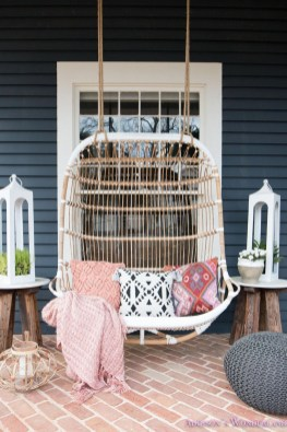 Gorgeous Colorful Bohemian Spring Porch Update For Your Inspire 34