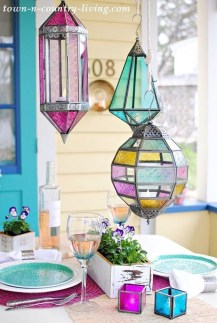 Gorgeous Colorful Bohemian Spring Porch Update For Your Inspire 40