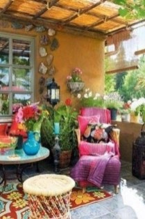 Gorgeous Colorful Bohemian Spring Porch Update For Your Inspire 47