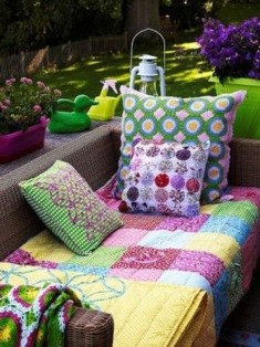 Gorgeous Colorful Bohemian Spring Porch Update For Your Inspire 49