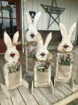 Inspirational Easter Decorations Ideas To Impress Your Guests 07