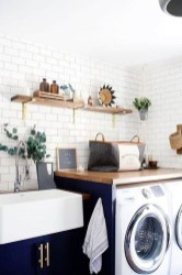 Inspiring Laundry Room Design With French Country Style 01