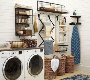 Inspiring Laundry Room Design With French Country Style 11