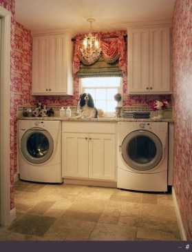 Inspiring Laundry Room Design With French Country Style 29