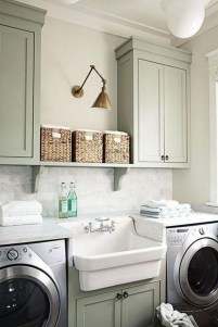 Inspiring Laundry Room Design With French Country Style 34