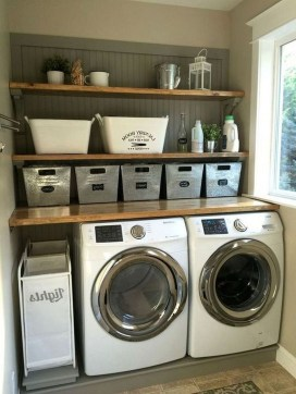 Inspiring Laundry Room Design With French Country Style 44
