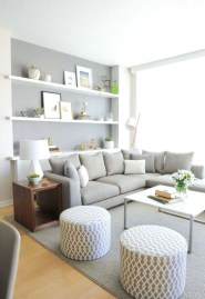 Popular Ways To Efficiently Arrange Furniture For Small Living Room 01