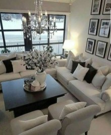 Popular Ways To Efficiently Arrange Furniture For Small Living Room 03