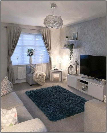 Popular Ways To Efficiently Arrange Furniture For Small Living Room 07
