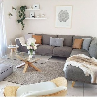 Popular Ways To Efficiently Arrange Furniture For Small Living Room 21