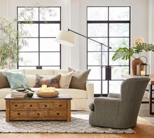 Popular Ways To Efficiently Arrange Furniture For Small Living Room 24
