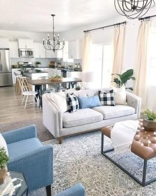 Popular Ways To Efficiently Arrange Furniture For Small Living Room 26