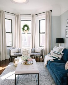 Popular Ways To Efficiently Arrange Furniture For Small Living Room 49