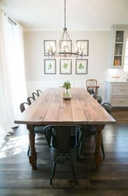Rustic Farmhouse Table Ideas To Use In The Decor 01