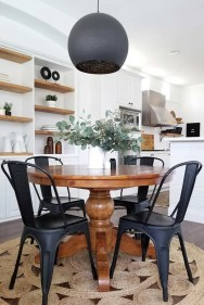 Rustic Farmhouse Table Ideas To Use In The Decor 05