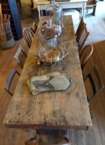 Rustic Farmhouse Table Ideas To Use In The Decor 10