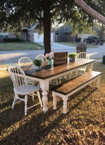 Rustic Farmhouse Table Ideas To Use In The Decor 12