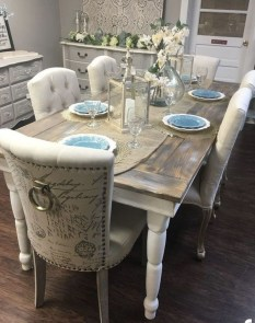 Rustic Farmhouse Table Ideas To Use In The Decor 14