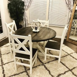 Rustic Farmhouse Table Ideas To Use In The Decor 19