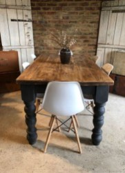 Rustic Farmhouse Table Ideas To Use In The Decor 20