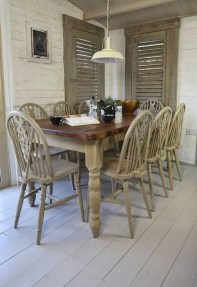 Rustic Farmhouse Table Ideas To Use In The Decor 27