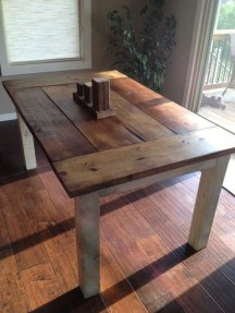 Rustic Farmhouse Table Ideas To Use In The Decor 29