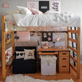 Splendid Dorm Room Ideas To Tare Room Decor To The Next Level 22
