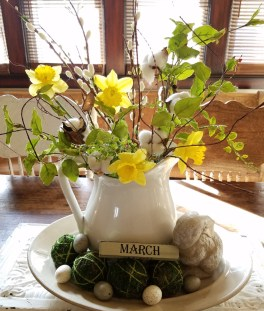 Superb Easter Indoor Decoration Ideas For Your Home 03