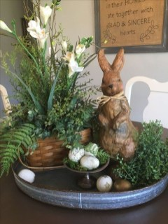 Superb Easter Indoor Decoration Ideas For Your Home 29