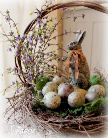 Superb Easter Indoor Decoration Ideas For Your Home 46