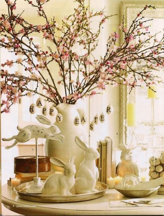 Superb Easter Indoor Decoration Ideas For Your Home 51