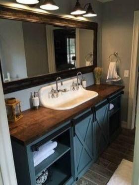 Unordinary Bathroom Design Ideas With Stunning Wood Shades 07