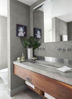 Unordinary Bathroom Design Ideas With Stunning Wood Shades 11