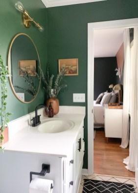 Unordinary Bathroom Design Ideas With Stunning Wood Shades 18