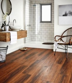 Unordinary Bathroom Design Ideas With Stunning Wood Shades 20