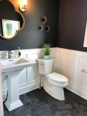 Unordinary Bathroom Design Ideas With Stunning Wood Shades 25