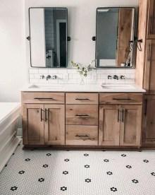 Unordinary Bathroom Design Ideas With Stunning Wood Shades 29