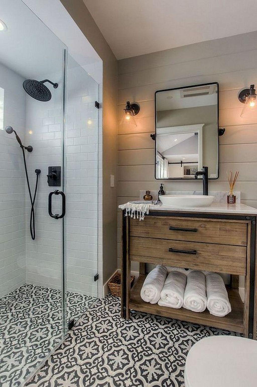 Unordinary Bathroom Design Ideas With Stunning Wood Shades 43