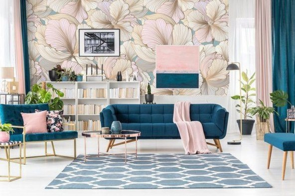 Cute Pastel Living Room Design Ideas That You Should Have 09