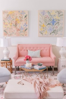 Cute Pastel Living Room Design Ideas That You Should Have 17