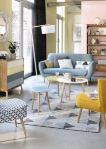 Cute Pastel Living Room Design Ideas That You Should Have 21