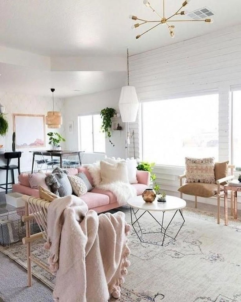 Cute Pastel Living Room Design Ideas That You Should Have 41