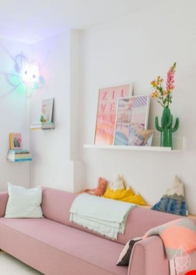Cute Pastel Living Room Design Ideas That You Should Have 55