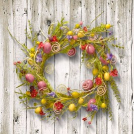 Gorgeous Outdoor Easter Decorations To Bedeck Your House In Style 24