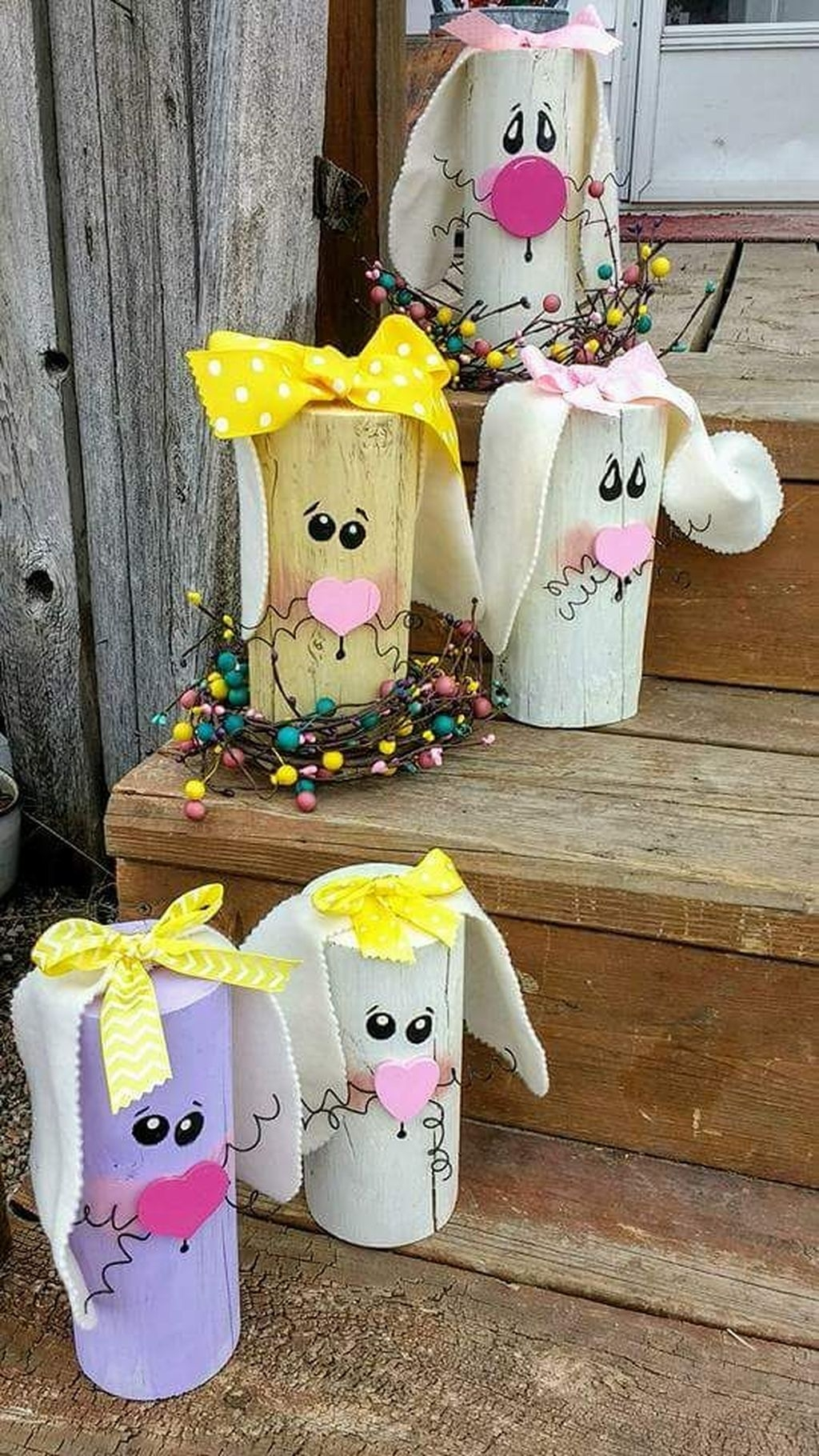 Gorgeous Outdoor Easter Decorations To Bedeck Your House In Style 41